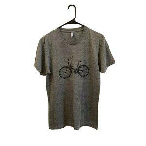 American Apparel Track Shirt Venice Bicycle Medium